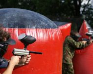 Paintball, Speedball oraz Killing house i Laser Tag